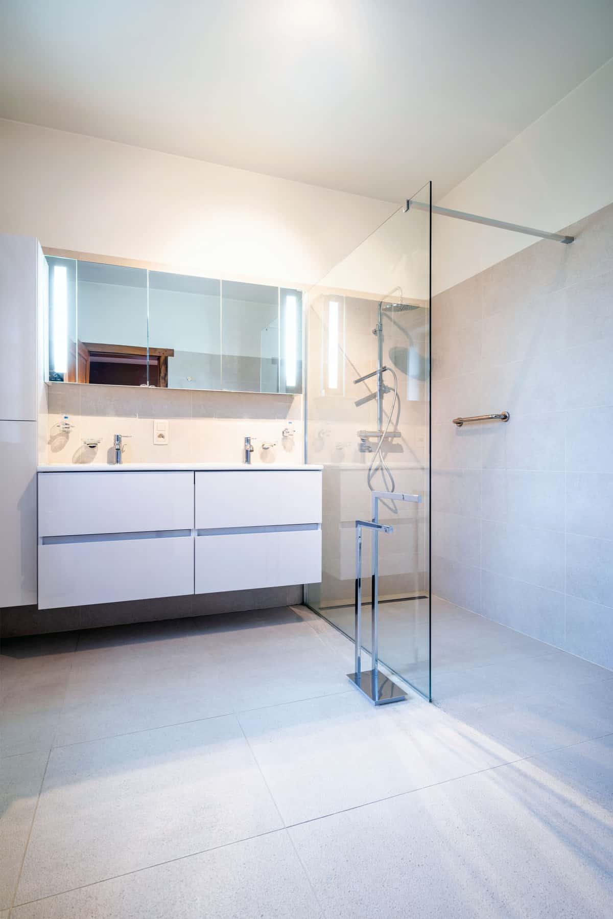 Badkamer Renovatie Harelbeke Md Sanitair