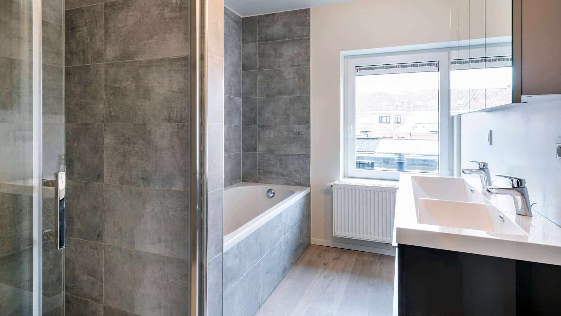 Badkamer Renovatie Zwevegem Md Sanitair